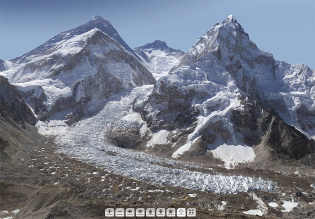 3.8 Billion pixel Mount Everest