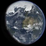 Ice Age Earth at next glacial maximum