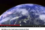 Fossil Fuels making the Earth greener