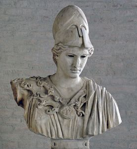 Athena goddess of Reason - greek bust in Glyptothek Munich - sorely missed in 21stC Europe
