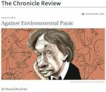 Against Environmental Panic - Politicizied Environmentalism - how NOT to make the world an even better place