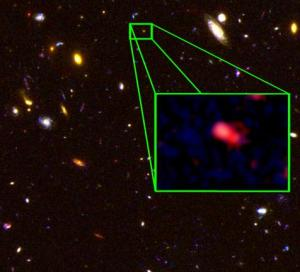 Galaxy at 13.1 billion years old - most distant as at Oct 2013