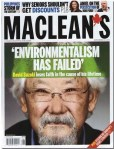 Environmentalism Fails - David Suzuki (Canada's Top Green) complains of the weakness of others