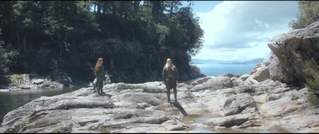 Hobbit 2 - out of the sickly wood on to the open waters