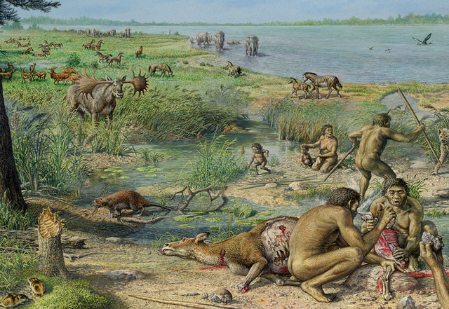 Homo antecessor on English mudflats 800 000 years ago