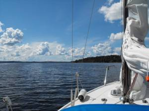 Midsummer Sailing - Lake Ekoln Sweden