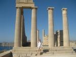 Lindos Akropolis - Rhodes - Athena Temple - Dorian 4thC BC