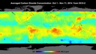 OCO2 Carbon Dioxide satellite - even now showing problems the man made global warming theory