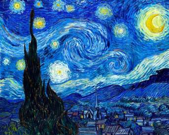 Starry Night by Vincent van Gogh - 1889