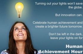 Human Achievement Hour - making ALL humans better