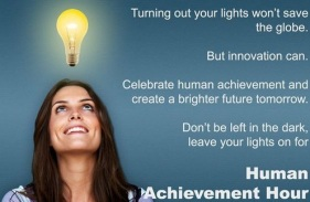 Human Achievement Hour - making ALL humans better