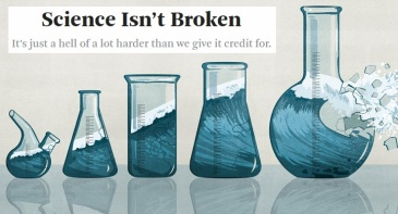 Science is not broken it is just hard to do