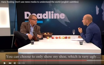 Hans Rosling - Do not trust The Media if you want to understand the world