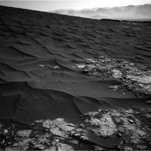 Bagnold Dunes on Mars
