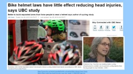 Bike Helmet Laws misguided