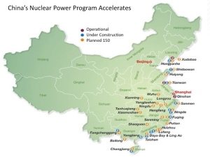 Chinese Future Nuclear Map