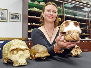 Homo naledi and the Underground Astronaut who found him - Lindsay Hunter