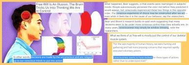 Brain controls the Mind again