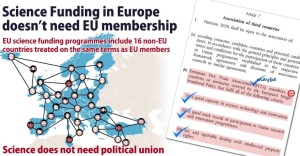 Science Funding In Europe does not need EU
