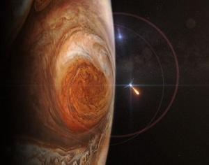Juno arrives - Jupiter Orbital Insertion 6 - 5 July 2016